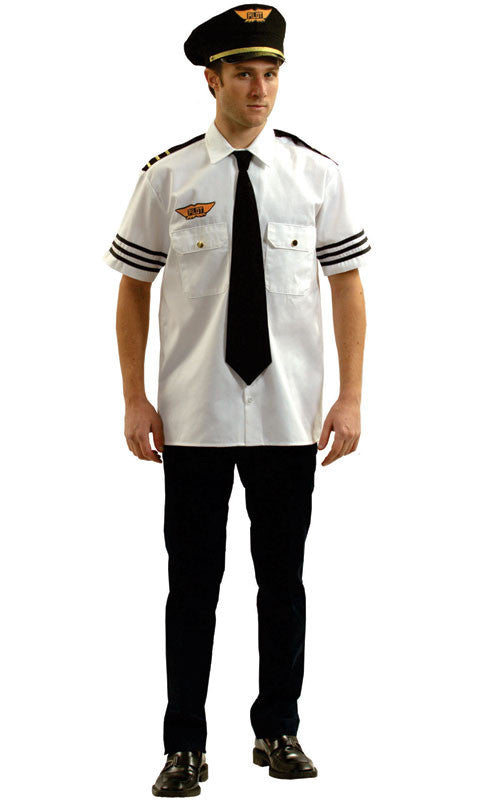 Mens Pilot Costume - HalloweenCostumes4U.com - Adult Costumes