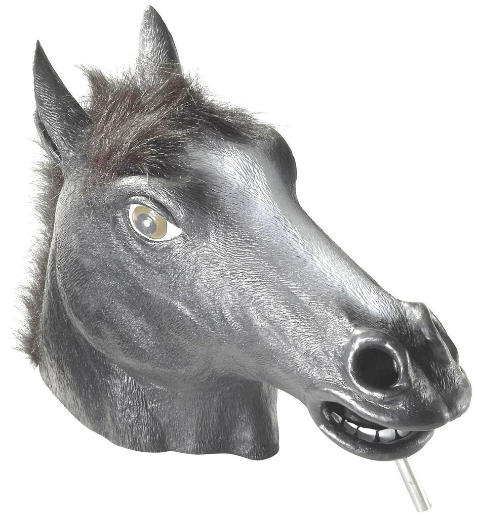 Black Horse Head Mask