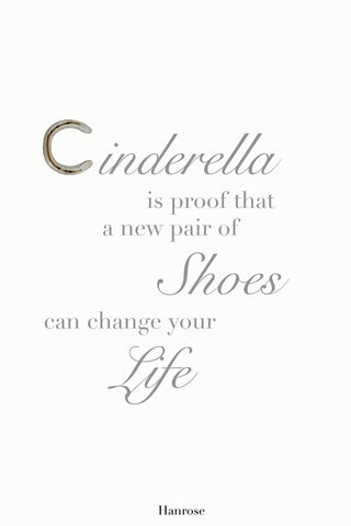"""Cinderella is proof"" card"