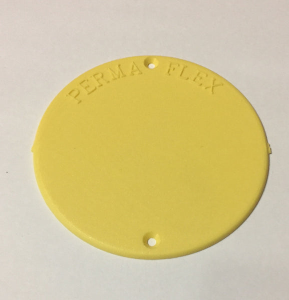 Perma Flex Blank Round Tag for Orchards, Vineyards or Industry