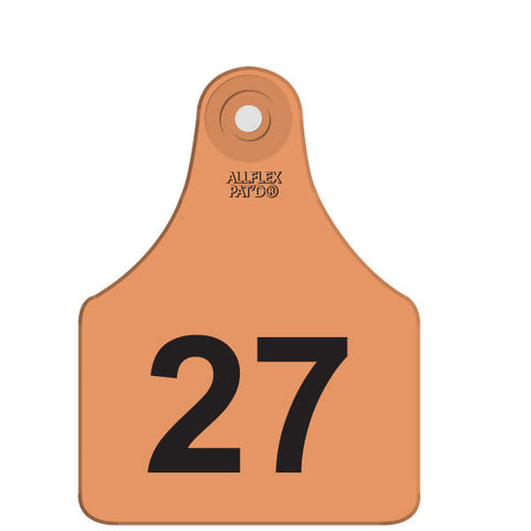 ALLFLEX Maxi Female Numbered 1 Side TAG ONLY