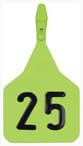 Y-TEX Feedlot Large Numbered Tags (50/bag)