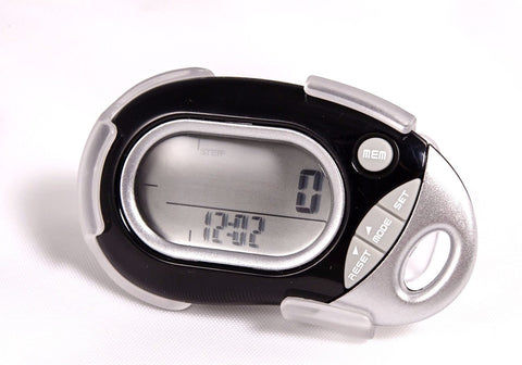Pedusa PE-771 Tri-Axis Multi-Function Pocket Pedometer and Clip