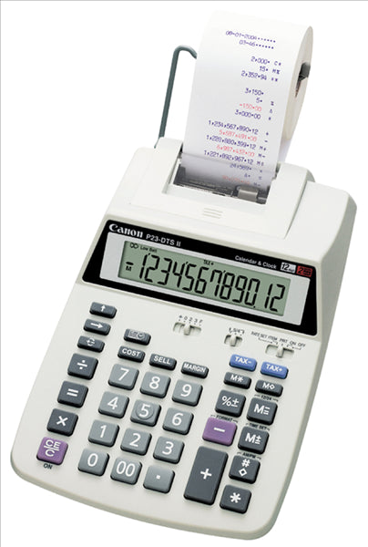Canon P23DTSC Calculator