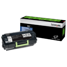 Lexmark 523 Black Toner - 6,000 pages