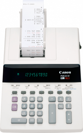 Canon P29DIV Calculator