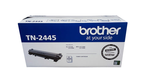Brother Genuine TN-2445 Toner Cartridge - 3,000 pages - Out Of Ink