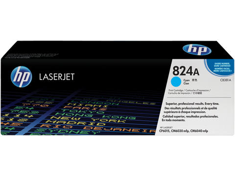 HP CP6030 / CM6040MFP Cyan Toner Cartridge - 21,000 pages