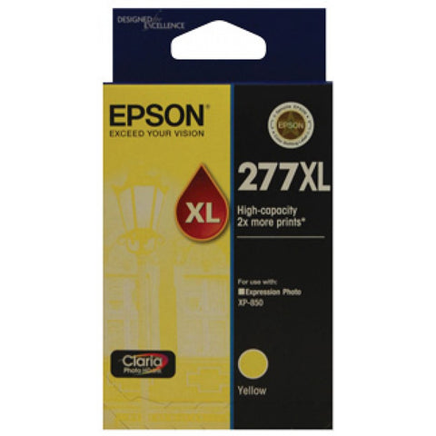 Epson 277 Yellow HY Ink Cart