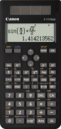 Canon F717SGA Calculator - Black