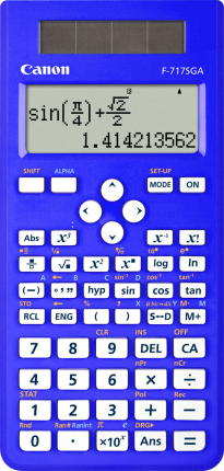 Canon F717SGA Calculator  - Blue