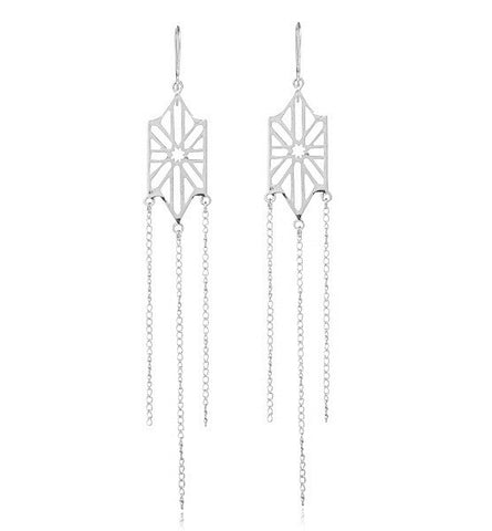 Adina Earring, Sterling