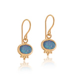 Anara Earring, Opal, Gold