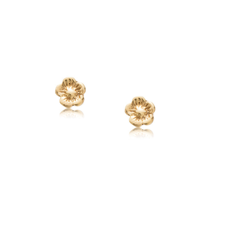 Blossom Studs, Gold