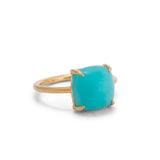 Anna Ring, Amazonite, Gold