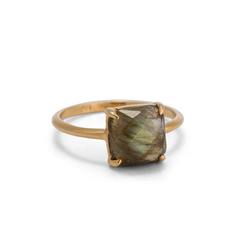 Anna Ring, Labradorite, Gold