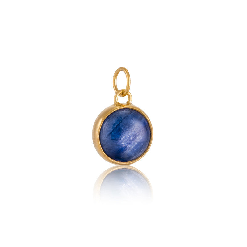 Stella Charm, Kyanite, Gold
