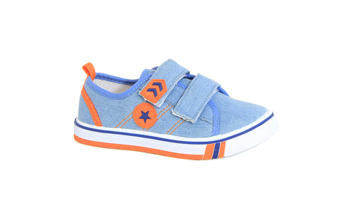 Infants Boys Double Strap Slip-On