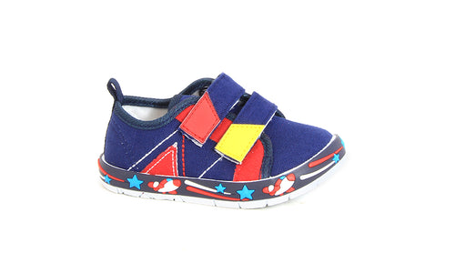 Boys Double Strap Slip-On