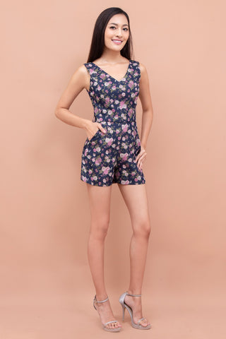 Larisa Floral Playsuit
