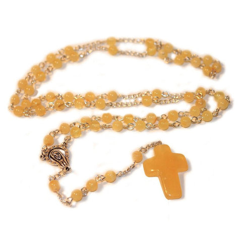 100% Natural Butter Baltic Amber CHRISTIAN, CATHOLIC ROSARY meditation & prayer beads