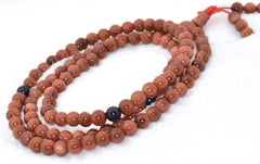 Healing Jewelry & Mala Meditation Beads (108 beads on a strand) Goldstone - Adult Healing - The Art of Cure