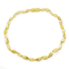 The Original Certified Baltic Amber Teething Necklace - Milk Bean