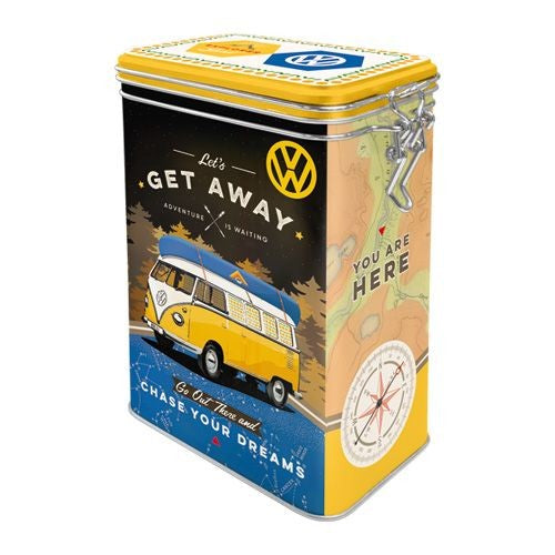 Nostalgic Art - NA Clip Top Box - VW Let's Get Away - Studio Thien