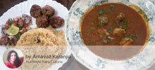 Mutton Dhansak with Mutton Kebab (3 / 6) served with Brown Rice (450 ML / 750 ML) and Salad -  - Homely - By Arnavaz Karanjia - 2