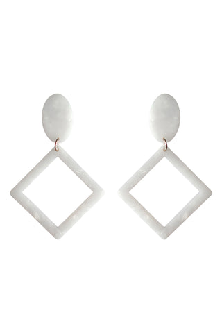 Barossa Drop Earring - Ivory