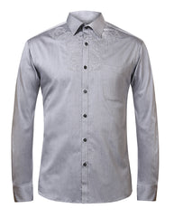 Raymond Dark Grey Slim Fit Shirt