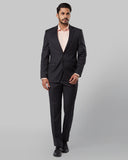 Raymond Dark Grey Regular Fit Suit