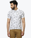 Parx Medium Grey Regular Fit T-Shirt