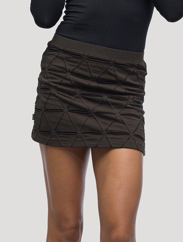 Tangled' Mini Skirt
