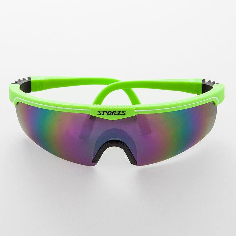 90s Sports Reflective Mirror Shield Lens Vintage Sunglass