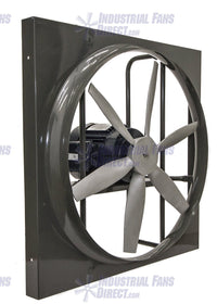 AirFlo Panel Explosion Proof Exhaust Fan 12 inch 1180 CFM 3 Phase N912-A-3-E