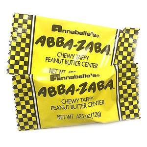 All City Candy Abba Zaba Snack Size Candy Bars - 3 LB Bulk Bag Bulk Wrapped Annabelle's For fresh candy and great service, visit www.allcitycandy.com