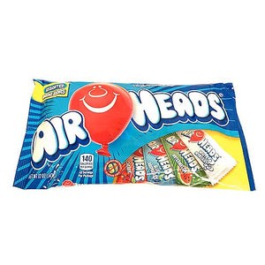 All City Candy Airheads Assorted Mini Taffy Bars - 12-oz. Bag Taffy Perfetti Van Melle For fresh candy and great service, visit www.allcitycandy.com