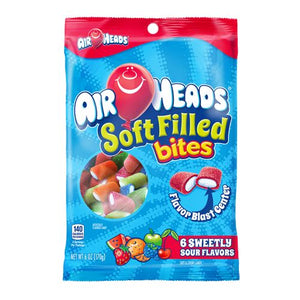All City Candy Airheads Soft Filled Chewy Bites Candy - 6-oz. Bag Perfetti Van Melle Default Title For fresh candy and great service, visit www.allcitycandy.com