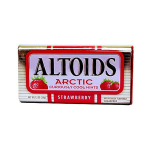 All City Candy Altoids Arctic Mints Strawberry - 1.2-oz. Tin Mints Wrigley 1 Tin For fresh candy and great service, visit www.allcitycandy.com