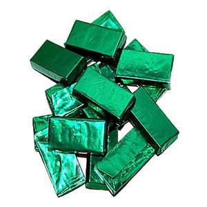 All City Candy Andes Green Foil Creme de Menthe Thins - 3 LB Bulk Bag Bulk Wrapped Charms Candy (Tootsie) Default Title For fresh candy and great service, visit www.allcitycandy.com