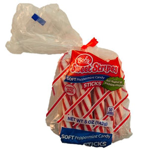 All City Candy Bob's Sweet Stripes Soft Peppermint Sticks - 5-oz. Bag Christmas Ferrara Candy Company For fresh candy and great service, visit www.allcitycandy.com