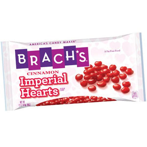 All City Candy Brach's Cinnamon Imperial Hearts - 12-oz. Bag Valentine's Day Brach's Confections (Ferrara) Default Title For fresh candy and great service, visit www.allcitycandy.com