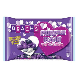 All City Candy Brach's Purple Rain Tiny Jelly Beans - 11-oz. Bag Valentine's Day Brach's Confections (Ferrara) For fresh candy and great service, visit www.allcitycandy.com