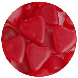 All City Candy Cherry JuJu Hearts Jelly Candy - 3 LB Bulk Bag Bulk Unwrapped Zachary Default Title For fresh candy and great service, visit www.allcitycandy.com