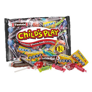 All City Candy Child's Play Funtastic Tootsie Roll Favorites Halloween Tootsie Roll Industries 15-oz. Bag For fresh candy and great service, visit www.allcitycandy.com