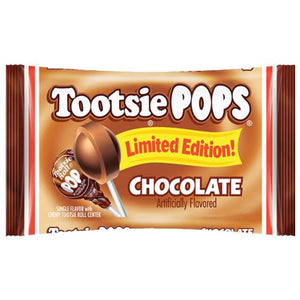 All City Candy Chocolate Tootsie Pops - 13.2-oz. Bag Lollipops & Suckers Tootsie Roll Industries Default Title For fresh candy and great service, visit www.allcitycandy.com