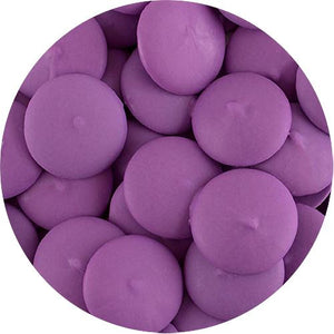 All City Candy ChocoMaker Bright Purple Vanilla Flavored Candy Wafers - 12-oz. Bag Candy Making Supplies ChocoMaker For fresh candy and great service, visit www.allcitycandy.com