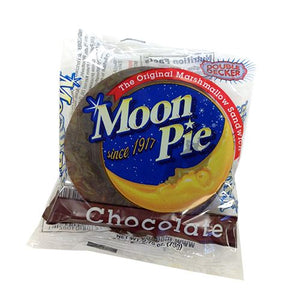 All City Candy Double Decker Chocolate MoonPie 2.75 oz. Candy Bars Chattanooga Bakery (MoonPies) 1 Piece For fresh candy and great service, visit www.allcitycandy.com
