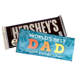 All City Candy Father's Day Custom Wrapped Hershey's Candy Bar Custom All City Candy For fresh candy and great service, visit www.allcitycandy.com
